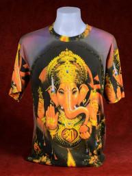 "Excentriek T-shirt van Ganesha met ""Om"""
