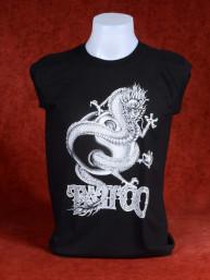 "Tanktop ""Tattoo"" met Chinese Draak"