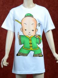 Groen Kung Fu T-shirt voor kinderen