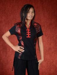 Shirt Empire zwart-rood