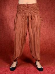 Koper bruine harem broek model Aladdin