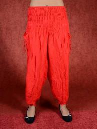 Rode harem broek model Aladdin