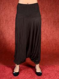 Donker bruine harem broek model sinbad