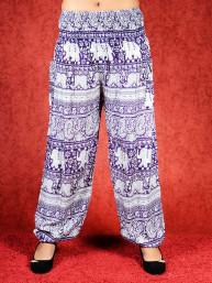 Harem broek Elephant model Aladdin paars