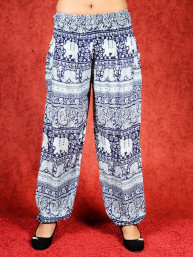 Harem broek Elephant model Aladdin donker blauw