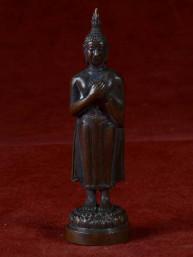Boeddha miniatuur voor vrijdag brons
