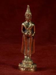 Boeddha miniatuur voor woensdag Boeddha messing