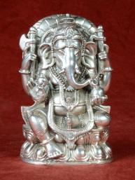 Ganesha brons vernikkeld Thailand
