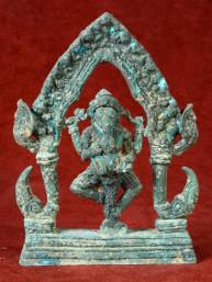 Ganesha in tempel brons Lopburi Style