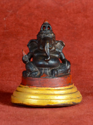 Apart Ganesha beeldje brons Cambodja