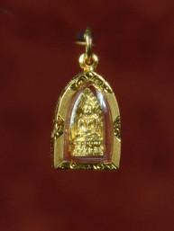 Phra Rod amulet met Boeddha 18K goud