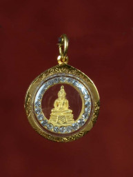 Donderdag Boeddha amulet goud 18K