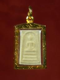 Phra Somdej amulet met Boeddha 18K goud