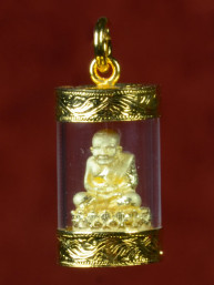 Phra Luang Tuad Amulet verguld