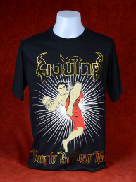 T-Shirt Born to be Muay Thai - Jump Kick