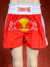 Muay Thai training short Red Bull rood