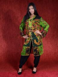 Salwar kameez, Indiase jurk of Punjabi dress groen-zwart