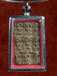 Phra Kham Pheng Harai Tat Kao amulet met Boeddha