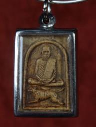 Phong Nangsue Pen amulet met Boeddha
