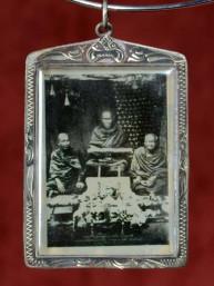 Phra Luang Phor Toh amulet uit de Wat Rakhang