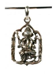 Hanger zilver Ganesha