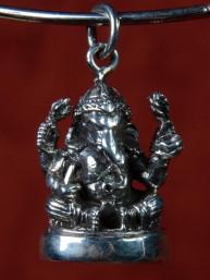 Ganesha amulet zilver
