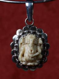 Ganesha amulet lvoor in zilver