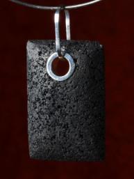 Exclusieve hanger van lavasteen