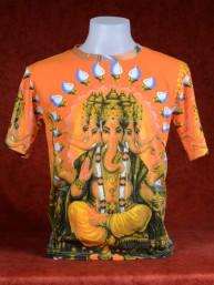 Excentriek T-shirt met Ganesha