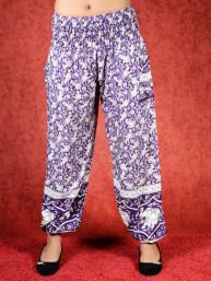 Harem broek Jungle model Aladdin paars