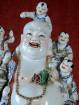 Happy Boeddha met 8 kinderen Porselein