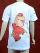 Rood Kung Fu T-shirt  voor kinderen