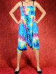 Dip-Dye & Tie-Dye Harem broek model Sinbad blauw
