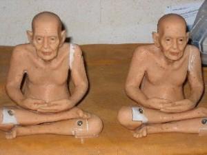 Geschilderde monniken